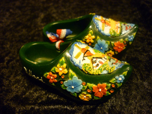 Miniature wooden shoes from Holland, Michigan Made in The Netherlands (Holland) Europe