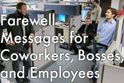 Farewell Wishes and Speeches for a Colleague or Boss