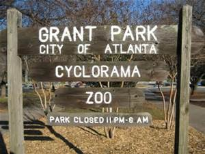 Grant Park Zoo Atlanta. I loved going here growing up.