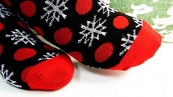 Keep your feet warm with cozy socks to reduce the chance of chilblain development, especially in winter