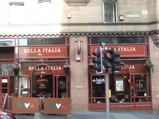 Bella Italia, you saved us!