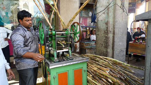 Sugarcane juice manual extractor in India