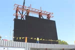 Alamo Stadium scoreboard