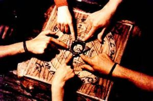 Anywhere from one to four people can participate in a seance in an effort to bring the dead back to our world.