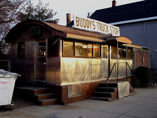 """Small in size, big on service. (I wonder if """"Buddy"""" is still In business)"""