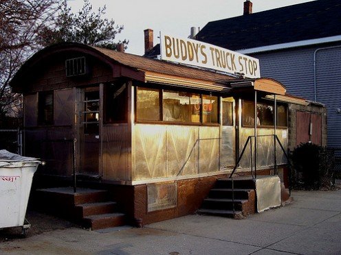 "Small in size, big on service. (I wonder if ""Buddy"" is still In business)"