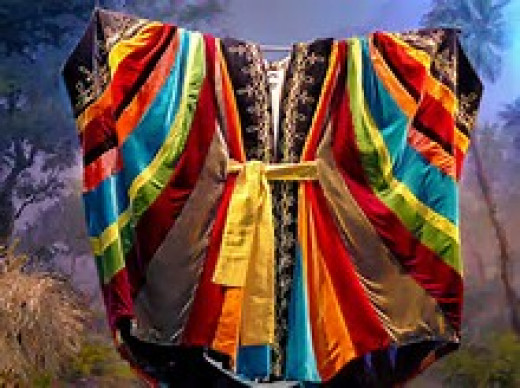 Joseph's coat of many colors, given to him by his father, Jacob.