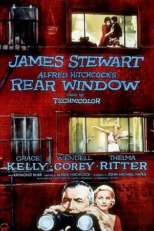 Movie poster for Rear Window