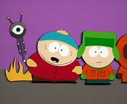 One of the side-effects of Cartman getting abducted by aliens.