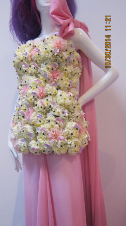 Dress at #lovely kitty wonder exhibit at Hello Kitty Con 2014