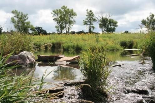 Lake Hiawatha in the Pipestone National Monument.