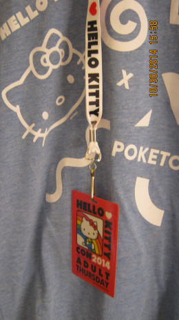 Hello Kitty t-shirt at Hello Kitty Con 2014