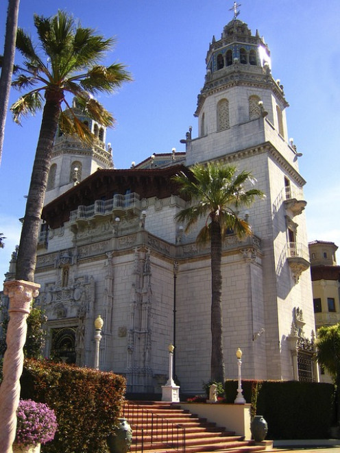 Part of the Hearst Castle