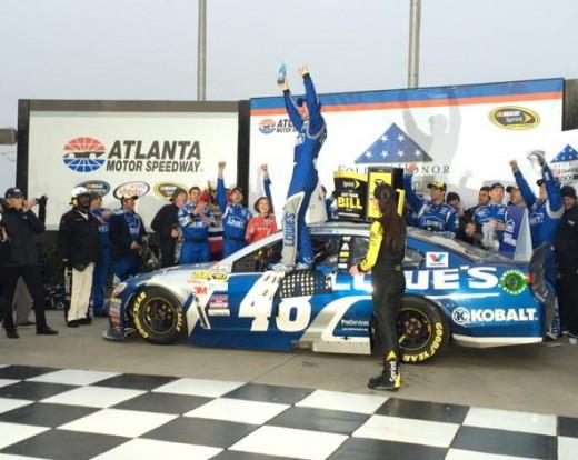 Johnson won NASCAR's second Sprint Cup race of the season
