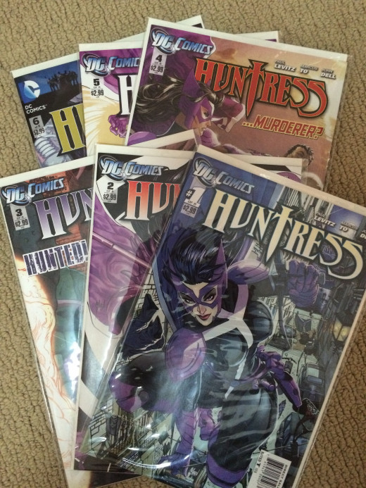 Huntress: Crossbow at the Crossroads was originally published as a six issue mini series.