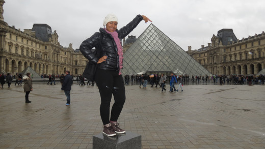 When you get a summer job in Europe, budget for some sightseeing, such as the Louvre in Paris, if you are an art student.