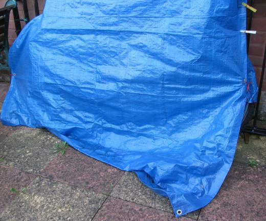 Tarpaulin: Dare to lift the stark tarp?