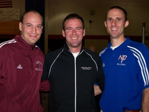 O'Connell, Braun, and Giufre at Cortland in 2007.