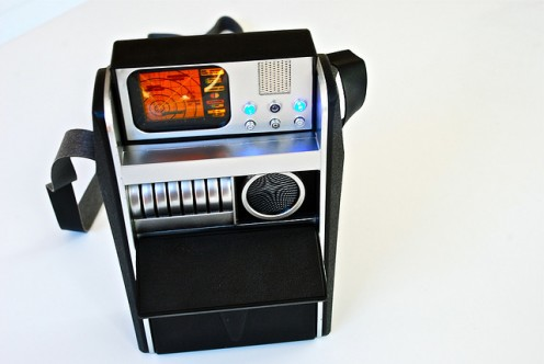 Medical/Scientific Tricorder of ST:TOS.