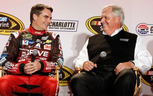 Gordon and team owner Rick Hendrick have won four Cup championships together