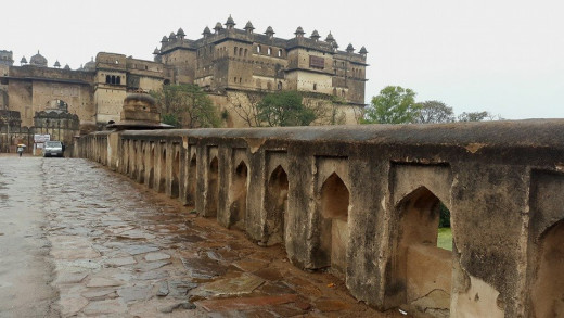 Fort at Orchha