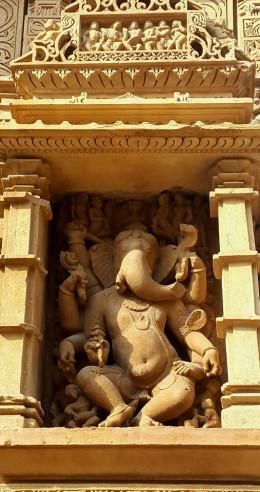 Ganesh Idol Vishnu Temple