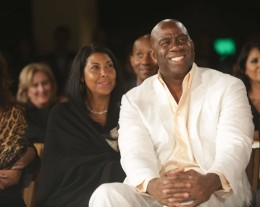 Magic Johnson at the DesignCare benefit; Malibu, California, July 27, 2013. Photograph by Tiffany Rose/WireImage/Getty / http://www.newyorker.com/