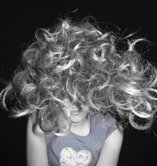 Hard water can make your hair frizzy and out of control