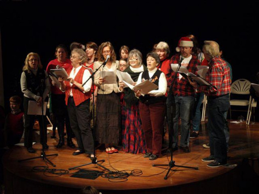 "Annual ""Story of the Carols"" Singalong production"