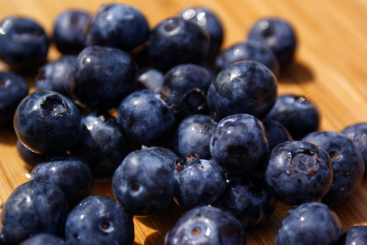 Eating blueberries can help keep your digestive system healthy.