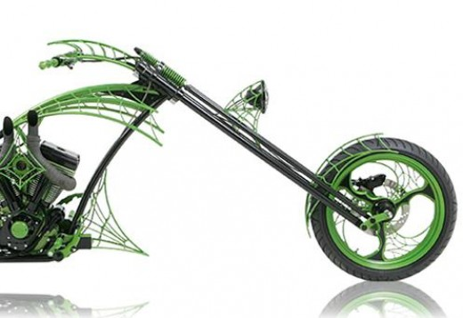 Chopper With A Larger Rake Angle