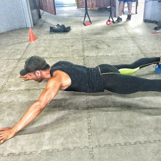 A strong core can help minimize your risk of injuring your back.