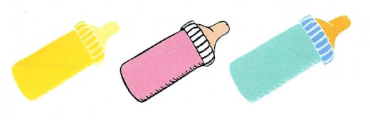 Cool-aid in bottles instead of milk