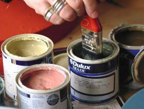 No matter how careful you are, there's a chance you'll get paint where you don't want it