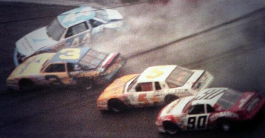 Bodine, a personal favorite, had numerous run-ins with Earnhardt
