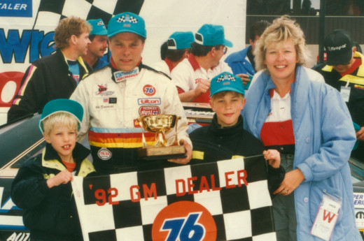 Like Earnhardt, Brad Keselowski came from a racing family