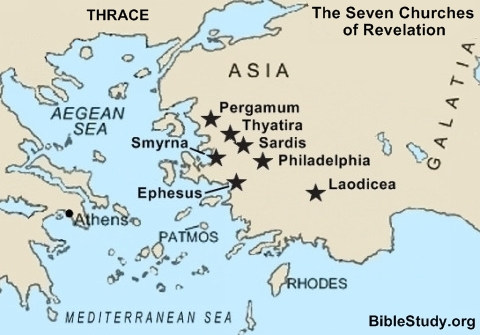 Seven Churches of Revelation - Relevant to the Church Today
