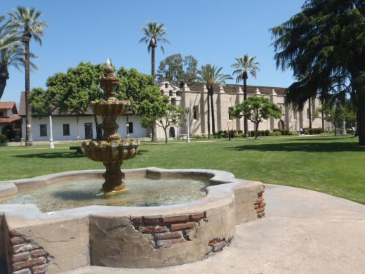 Mission San Gabriel, c. 1797. San Gabriel, CA.