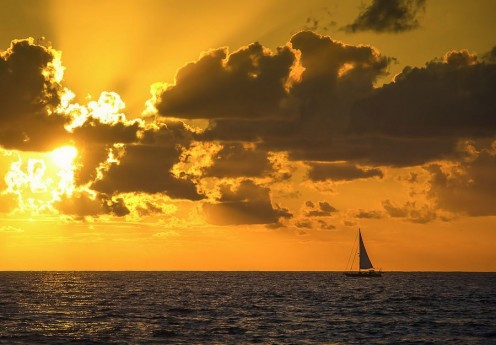 Peace, tranquility, beauty, timelessness, wonder - Sailing has it all