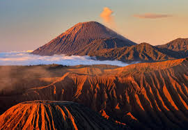 Mount Bromo in the morning