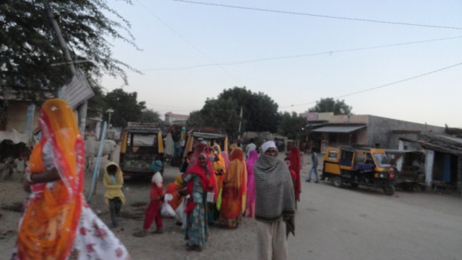 Rajsthan feel - way side small town and the people