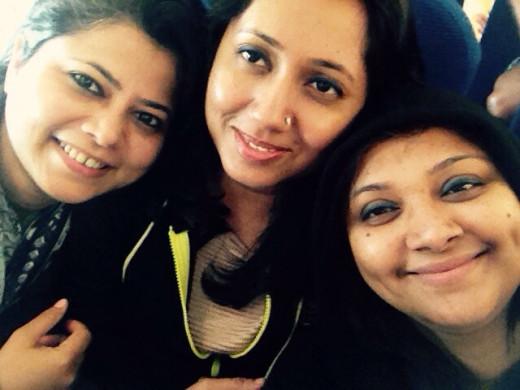 Flight back home - friends forever !!!!