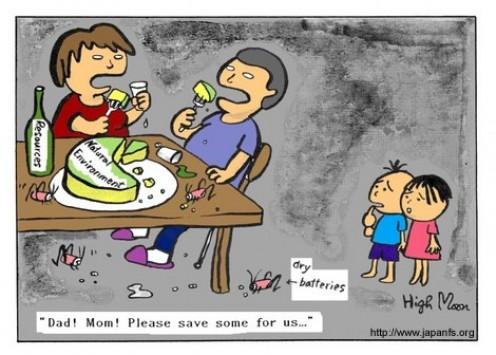 Sustainability Cartoons - HighMoon