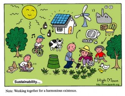 Sustainability Cartoons - HighMoon