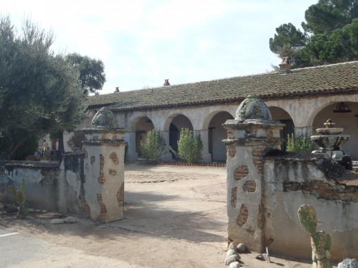 Mission San Miguel Arcangel, c. 1797, San Miguel, CA.