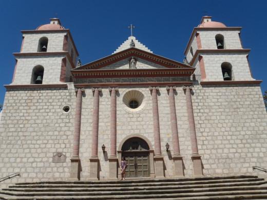 Mission San Barbara, c. 1786, Santa Barbara, CA.