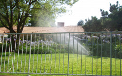 Irrigating differently is one way to save money by using less water.