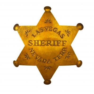 Sheriff Star Stock Photo. Published on 14 September 2010 Stock photo - Image ID: 10020501