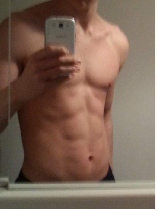 This my abs. Far away from perfect, but I am improving