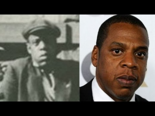Jay Z and 18 century twin